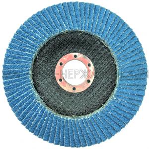Круг лепестковый торцевой цирконий 125х22 P40 DT