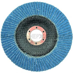 Круг лепестковый торцевой цирконий 125х22 P60 DT
