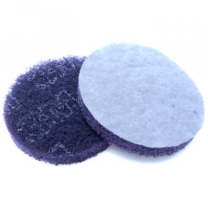 Скотч - Брайт 125мм круглый (фиолетовый)