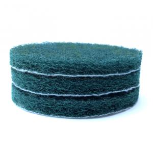 Скотч - Брайт 125мм круглый (зеленый) тонкий