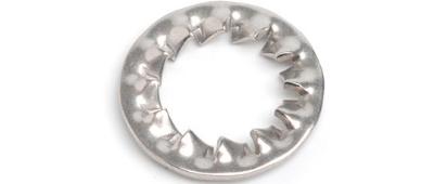 Шайба DIN 6798 J А2 стопорная с внутр зубц