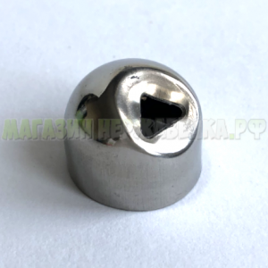 Соединение поручня (до 50,8) стойка 16 мм 30 ° (спс)
